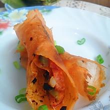 DIY健康蔬菜煎饼