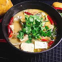 红烧鱼头豆腐汤