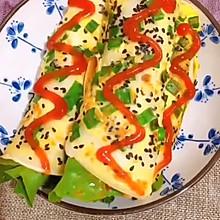 即使很忙也能吃好的十分钟早餐——鸡蛋煎饼