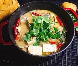 红烧鱼头豆腐汤的做法