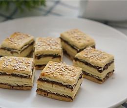 【元旦中式点心】豆沙酥饼的做法