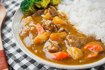 日食记丨咖喱牛腩拌饭