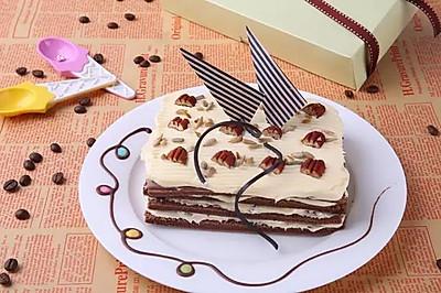 冰脆巧克力蛋糕