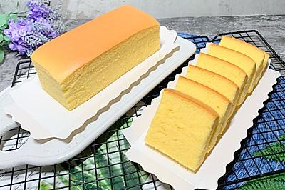 原味古早蛋糕,漂亮的鸡蛋黄
