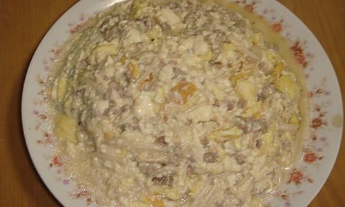 金针菇豆腐羹的做法