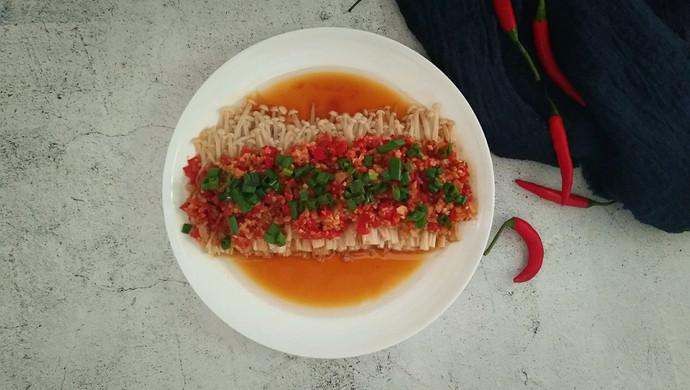 快手菜――剁椒金针菇
