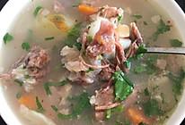 山药牛尾汤的做法