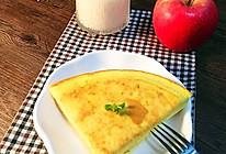 无需烤箱的鸡蛋面包饼#急速早餐#的做法