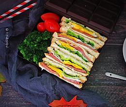 三明治减肥便当的做法