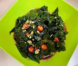 凉拌裙带菜(超简单1人食)的做法