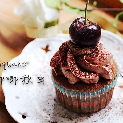 巧克力芝士杯子蛋糕