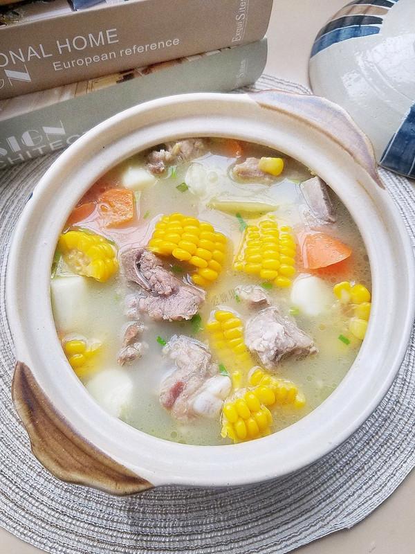 玉米山药排骨汤,补脾胃又润燥的做法