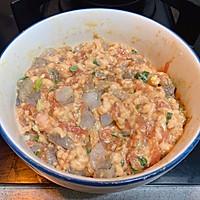 虾仁鲜肉蒸饺简单美味早餐家常菜的做法图解4