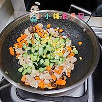 12个月以上辅食鸡胸肉杂蔬丁套餐的做法图解9