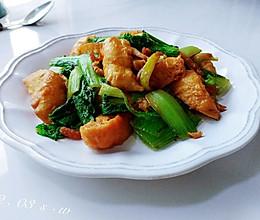 海米面泡小白菜的做法
