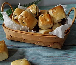 蔓越莓小面包块的做法