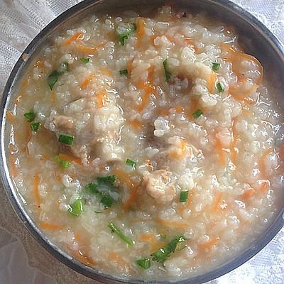 香菇萝卜排骨粥——全家人的营养粥之1