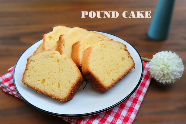 简单又复杂的基础磅蛋糕,理科生做烘焙的做法