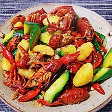 深夜美食——蒜香小龙虾