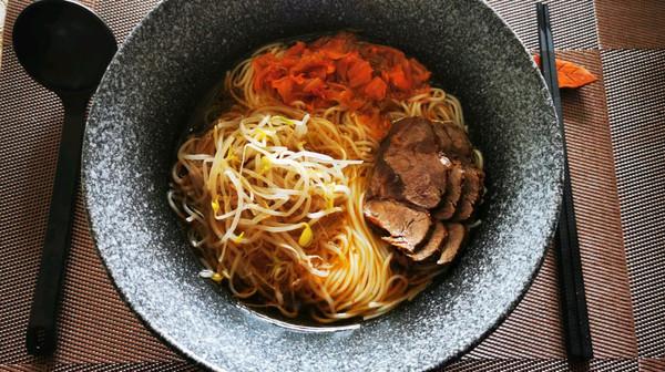 高汤牛肉凉面的做法