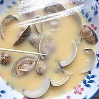 #硬核菜谱制作人#鲜美文蛤蒸鸡蛋羹的做法图解10