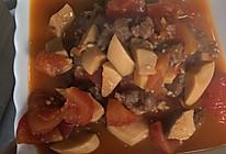 西红柿烧牛肉的做法
