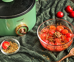 夏天吃糖渍番茄才爽!冰冰凉凉,酸爽解暑!的做法