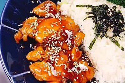 酱汁甜甜 鲜美异常の日式照烧鸡腿饭
