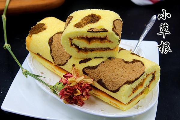豹纹蛋糕卷
