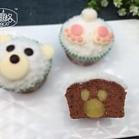 【美食魔法】北极熊惊喜杯子蛋糕