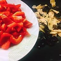 #精品菜谱挑战赛#四季豆烧腐竹+春天的味道的做法图解12