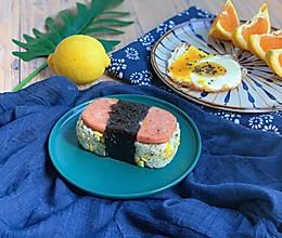 午餐肉握寿司的做法