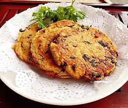 紫菜葱花豆渣煎饼#爱的暖胃季-美的智能破壁料理机#的做法