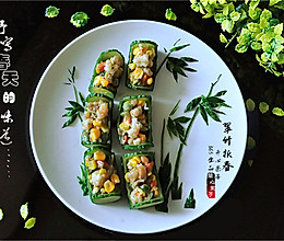 翠竹报春——虾仁小炒的做法