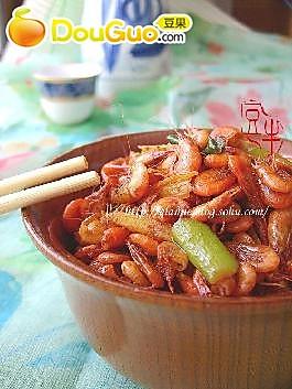 辣炒小河虾