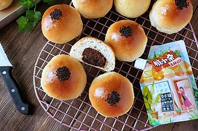 放3天都超级软的红豆小面包