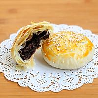 红豆沙千层酥 国庆中秋双节伴手礼不只有月饼 没蛋黄的蛋黄酥的做法图解28