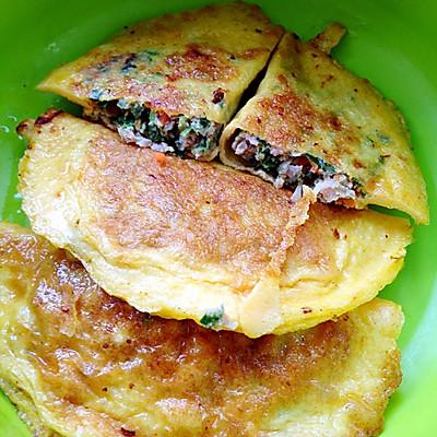 鸡蛋皮煎饺(宝宝辅食)