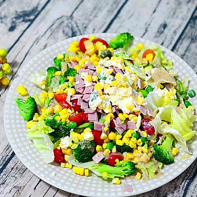低脂双味田园蔬菜沙拉