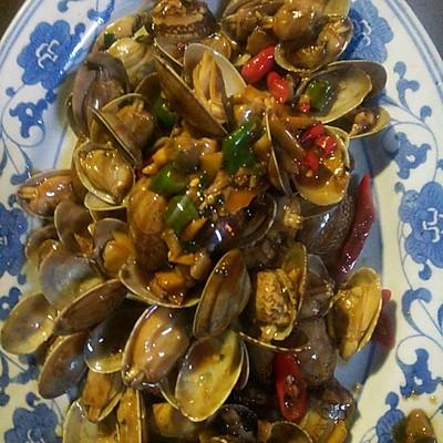 美味花蛤蜊海鲜
