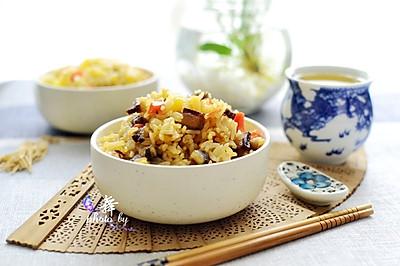 土豆腊肠焖饭 #美的初心电饭煲#
