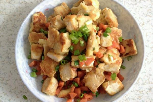 蛋包豆腐的做法