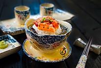 三文鱼梅子茶泡饭#铁釜烧饭就是香#的做法