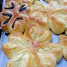 花式椰蓉面包~花式豆沙面包