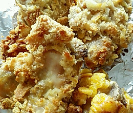脆皮鸡块(无油,免炸)的做法