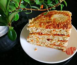 #餐桌上的春日限定#燕麦早餐饼的做法