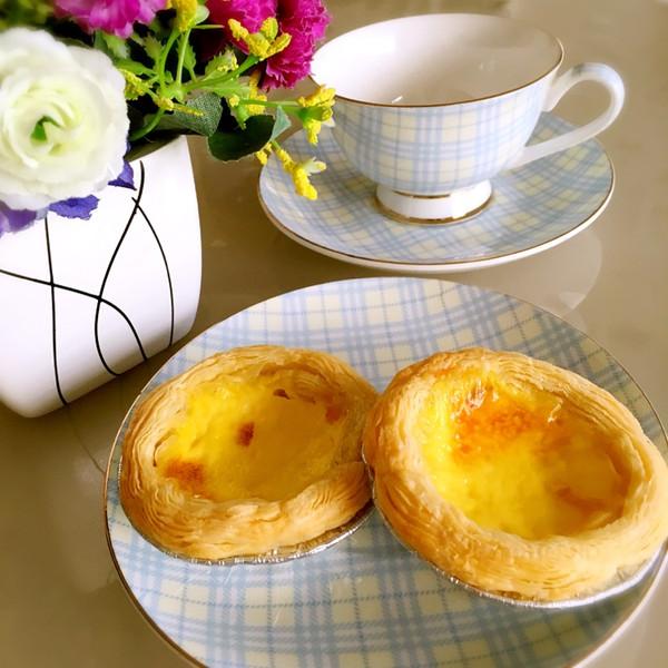 葡式蛋挞(4只配方)的做法