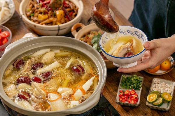 椰子鸡火锅|滋润养生的做法