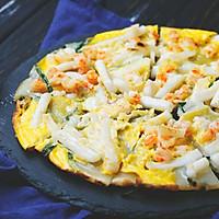 把大海的味道摊进饼里,尝尝这份料超多的海鲜饼!