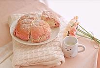 暖暖少女心~火龙果奶酪面包的做法